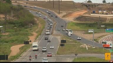 Movimento intenso nas estradas que dão acesso a João Pessoa - Do dia 18 até hoje foram mais de 75 mil pessoas passando pela rodoviária de João Pessoa.