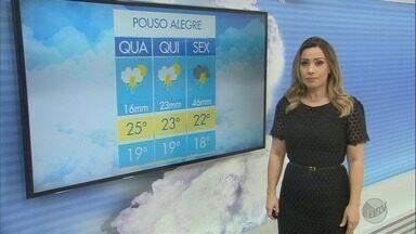 Confira a previsão do tempo para esta quarta-feira (27) no Sul de Minas - Confira a previsão do tempo para esta quarta-feira (27) no Sul de Minas