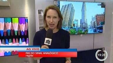 Sinal analógico será desligado em janeiro em 19 cidades da região - Moradores precisam se preparar.