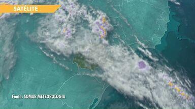 Segue a previsão de chuva para os próximos dias em Ponta Grossa e região - E deve chover também no feriado de ano novo.