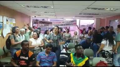 Representantes de comunidade ocupam prédio de Secretaria de Estado do Meio Ambiente - Ocupação foi feita na tarde desta terça-feira (26), em São Luís-MA