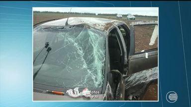 Buracos em estradas causam três acidentes durante feriado prolongado - Buracos em estradas causam três acidentes durante feriado prolongado