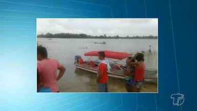 Capitania e Polícia Civil investigam acidente entre lancha e barco que matou 2 em Juruti - Lancha bateu com barco na madrugada de domingo (24) no rio Amazonas. Segundo as investigações, o barco navegava sem sinalização e não tinha autorização para viajar durante a noite.