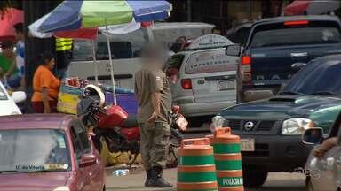 Brasileiros reclamam da cobrança de propina no trânsito de Cidade do Leste - Muitos turistas que vão fazer compras na cidade são ameaçados.