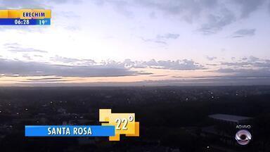 Tempo: confira o amanhecer no interior do RS nesta quarta-feira (27) - Veja a previsão completa.