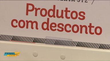 Passado o natal, lojas começam a fazer promoções - Essa é uma tentativa de manter as vendas aquecidas.