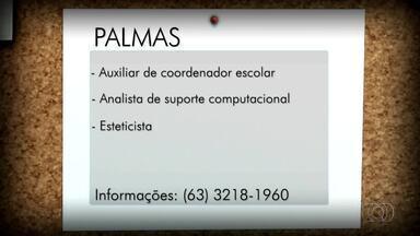 Veja vagas de emprego em Palmas, Porto e Gurupi - Veja vagas de emprego em Palmas, Porto e Gurupi