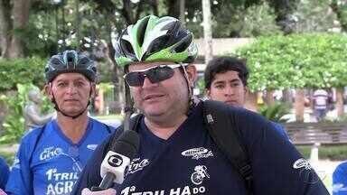 Primeira Trilha Ciclística é realizada no Agreste - Evento terá mais de 30 quilômetros.