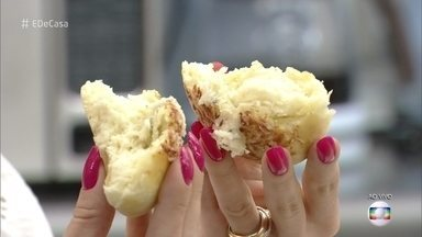Cozinheira Bruna Agati prepara Pão de Batata no É de Casa - Deixe o café da manhã mais gostoso com essa receita