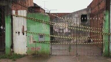 Família fica desabrigada após chuva forte em São Carlos, SP - Corpo de Bombeiros também interditou duas ruas na região do Cemitério Nossa Senhora do Carmo.