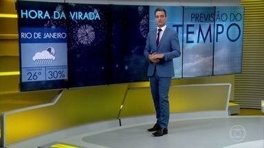 Confira a previsão do tempo para o último final de semana do ano - Domingo deve ter chuva no Amapá, em Minas, no Rio e no estado de São Paulo.