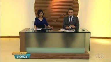 Veja os destaques do Bom Dia Goiás desta quinta-feira (4) - Comissão vistoria presídio de Aparecida de Goiânia após rebelião e constata que local está em estado precário.