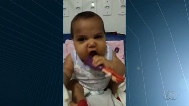 Bebê de 5 meses precisa de doadores de plaquetas para enfrentar tratamento em Goiânia - Ela sofre de uma doença que altera o funcionamento da medula óssea.