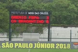 Grêmio estreia com vitória sobre o Bragantino na Copinha - Com o 3 a 0, time gaúcho lidera o Grupo 30 da Copa São Paulo de Futebol Júnior