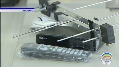 Daqui 13 dias o sinal analógico vai ser desligado - Lojas do setor estão com as vendas de antenas ampliada.