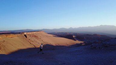Atacama 001: Marcelo Alves chega ao Chile para honrar o número 01 pela doação de medula - Primeiro episódio da série Atacama 001, que vai mostrar o maratonista extremo Marcelo Alves em mais uma aventura, dessa vez no Deserto do Atacama