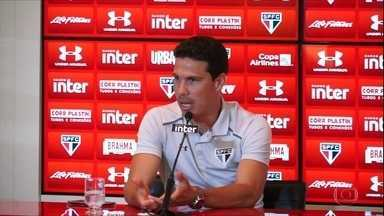 Em tom de despedida do São Paulo, Hernanes diz que está voltando para time chinês - Em tom de despedida do São Paulo, Hernanes diz que está voltando para time chinês