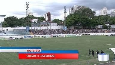 Taubaté entra em campo logo mais para o Jogo da Copinha - Jogo começa às 19h30.