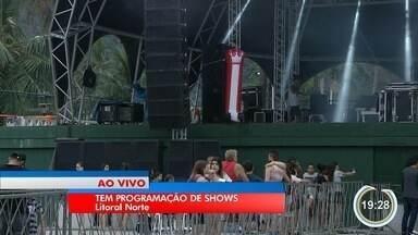Fest Verão tem shows de graça em Caraguá - Neste sábado tem a dupla Marcos & Belutti.