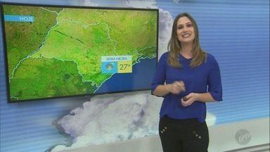 Veja como fica a previsão do tempo na região de Campinas - Céu continua nublado e chances de chuva aumentam em algumas cidades da região.