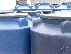 População busca alternativas para abastecimento e reserva de água em Montes Claros - Venda de reservatórios cresceu nas lojas.