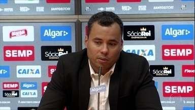 Na Vila Belmiro, Jair Ventura é apresentado como novo técnico do Santos - Na Vila Belmiro, Jair Ventura é apresentado como novo técnico do Santos
