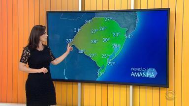 Tempo deve ficar firme na maior parte do Rio Grande do Sul no domingo (7) - Assista ao vídeo.