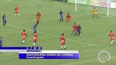 Manthiqueira só conseguiu um empate contra o União São Bento - Jogo foi no Dario Rodrigues.