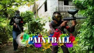 Batalhas de Paintball crescem em São Luís - Atletas precisam ter pontaria e muito trabalho em equipe.