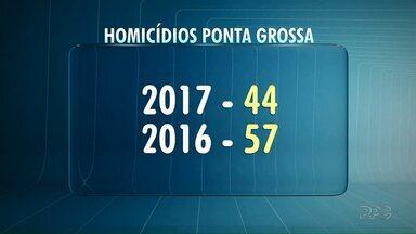 Ponta Grossa tem primeiro homicídio registrado em 2018 - Homem de 31 anos foi morto a tiros na madrugada deste sábado em Ponta Grossa.
