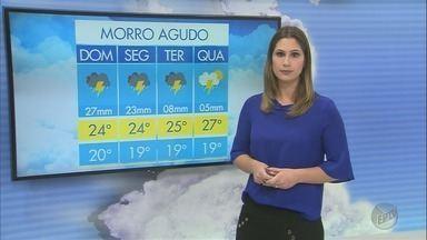 Previsão de chuva até terça-feira (9) na região de Ribeirão Preto - Tempo fica instável e calor diminui, principalmente durante as noites.