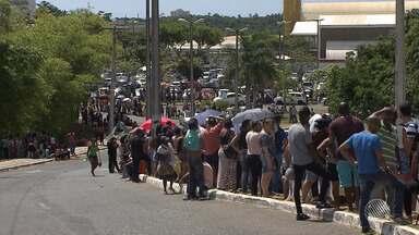 Biometria: eleitores encaram filas durante o regime especial do TRE, neste sábado (6) - Em Salvador, mais de 800 mil eleitores ainda não fizeram o procedimento.