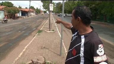 Moradores pedem conclusão de obra na avenida Duque de Caxias - Moradores pedem conclusão de obra na avenida Duque de Caxias