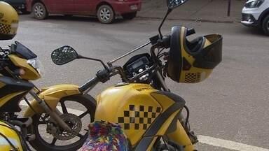 Mototaxistas terão que usár motocímetro a partir do mês que vem - Isso vai regular o valor das corridas.