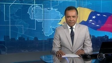 Ministro informa que brasileiro preso na Venezuela está voltando para os EUA - O ministro das Relações Exteriores, Aloysio Nunes, informou que o brasileiro Jonathan Moisés Diniz, que estava preso na Venezuela, foi expulso daquele país e está voltando para os Estados Unidos, onde mora.