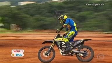 """""""Duelo de Motos: veja a volta de Fred Kyrillos na final do desafio em Minas Gerais - """"Duelo de Motos: veja a volta de Fred Kyrillos na final do desafio em Minas Gerais"""