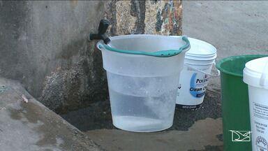 Moradores reclamam da falta de água em bairros de São Luís - Moradores do bairro Santa Cruz em São Luís reclamam que estão há mais de três meses sem água em casa.