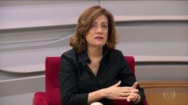 'Percepção às vezes é diferente do número', diz Miriam Leitão - Miriam Leitão comenta inflação abaixo do piso da meta e o fato dos brasileiros ainda não sentiram tanto o efeito da queda.