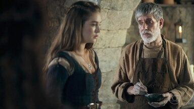 Martinho duvida que Afonso retorne a Artena - Amália garante ao pai que ele vai voltar assim que possível