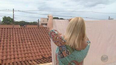 Meteorologia aponta que Ribeirão Preto tem verão mais chuvoso em 4 anos - Donas de casa relatam dificuldades com chuvas constantes.