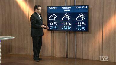 Veja a previsão do tempo nesta segunda-feira (15) no MA - Confira como deve ficar o tempo a a temperatura em São Luís e no Maranhão.