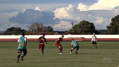 Atlético-GO empata amistoso contra o Uberlândia - Dragão fica no 1 a 1 em teste antes do Goianão