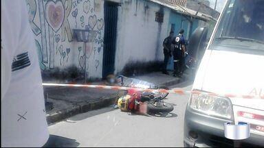 Menino de 12 anos foi baleado de raspão em Taubaté - Tiro teria partido de arma de assassino de motoboy.