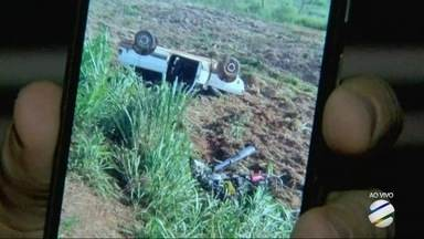 Acidente mata três pessoas em acidente na BR 158 - Acidente mata três pessoas em acidente na BR 158