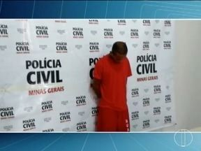 Autor de estupros em série em Buritizeiro é apresentado pela Polícia Civil - Homem confessou ser autor de quatro estupros ocorridos na cidade no final de 2017 e em janeiro deste ano; ele foi identificado após câmeras de segurança o flagrarem em um roubo.