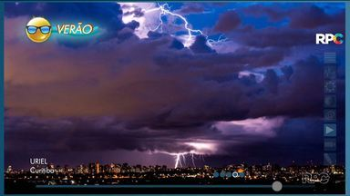 Fim de semana será abafado e com pancadas de chuva - O tempo não firma no Paraná, mas as temperaturas ficam agradáveis.