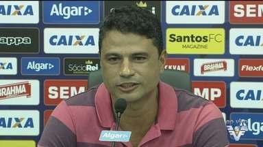 William Machado é apresentado como gerente de futebol do Santos - Ex-zagueiro é responsável por fazer a ponte entre diretoria e elenco.