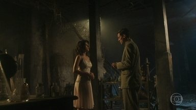 Leonor e Gregório extorquem Lucinda - Ela se arrepende de ter confiado em Gregório