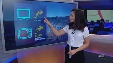 Sinal analógico será desligado em Florianópolis; saiba como se adequar ao digital - Sinal analógico será desligado em Florianópolis; saiba como se adequar ao digital