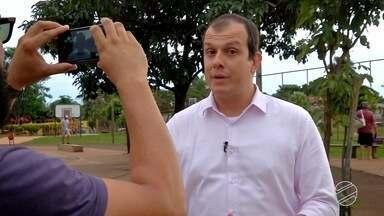 Rodrigo Grando ensina a gravar vídeo para o Brasil Que Eu Quero - O repórter foi ao bairro Vila Taveirópolis para mostrar o que deve fazer para que o vídeo seja o melhor e represente a cidade.